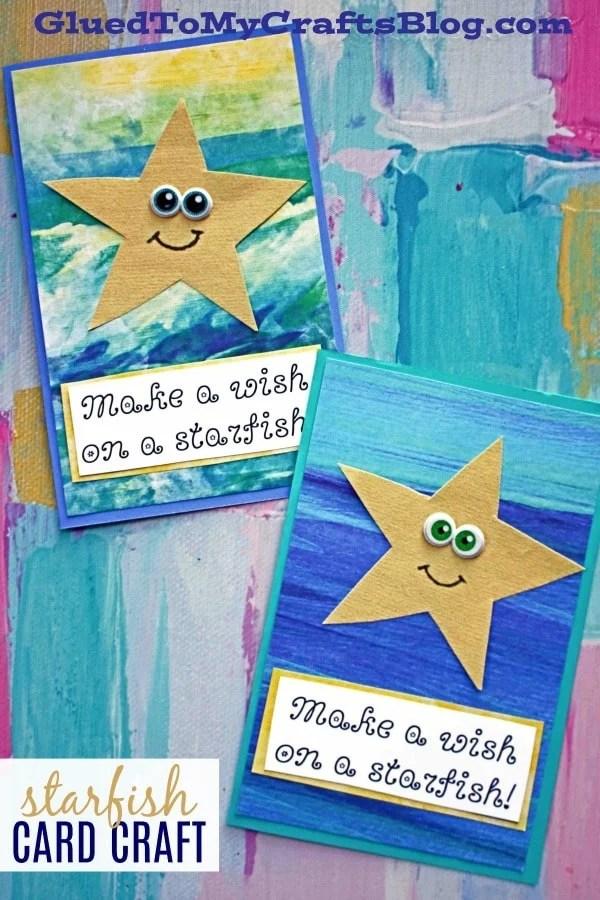 Starfish Wishes Card - Kid Craft