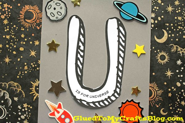 "Paper ""U"" is for Universe - Kid Craft"