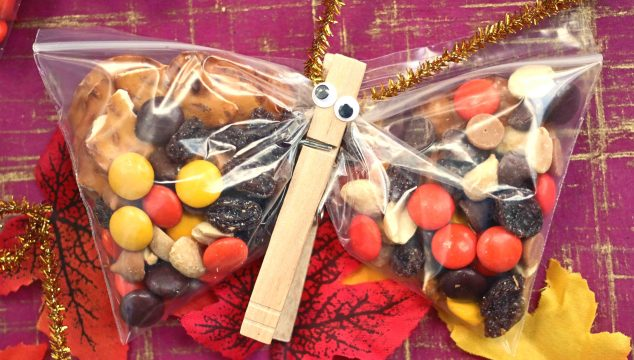 Fall Butterfly Snack Bags - Perfect For The Classroom!