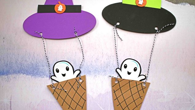 Witch Hat Hot Air Balloon - Kid Craft