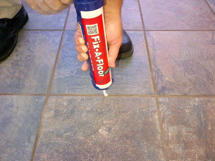 fix a floor bonding adhesive for loose