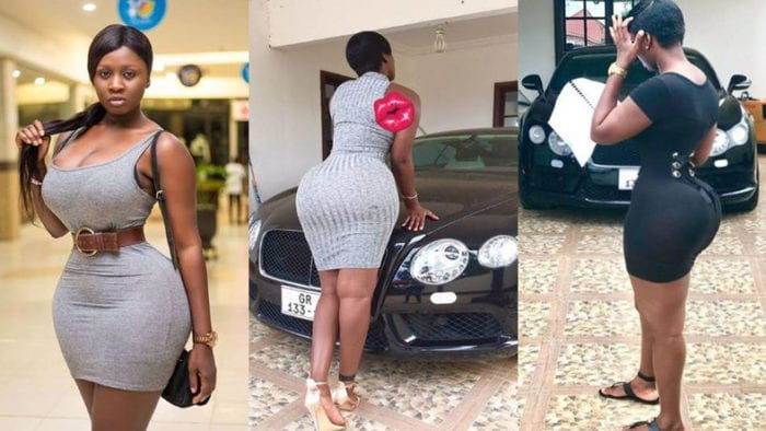 most curvy celebrities in Ghana