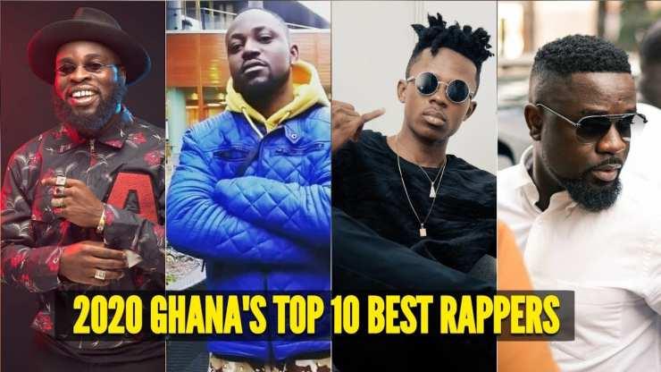top 10 rappers in Ghana 2020
