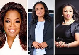 Richest Black Women in The World