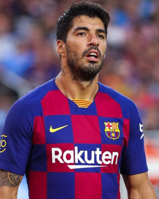 Best Barcelona players of all time Suarez