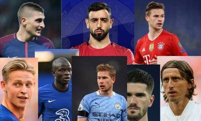 Top 10 Best Midfielders in the World