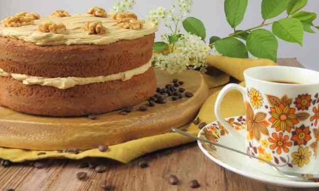 Coffee and Walnut Cake | gluten free and gorgeous