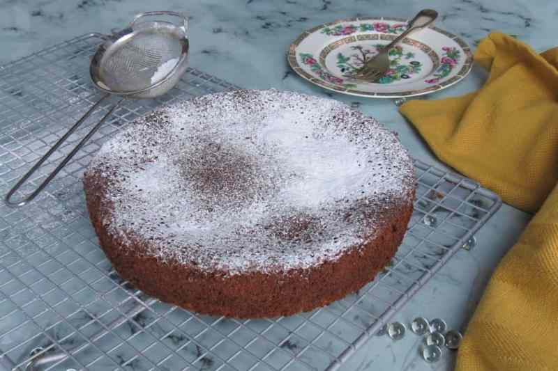 Pear & Chocolate Cake 11