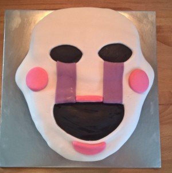 5 Nights at Freddies Sponge Cake - Gluten Free
