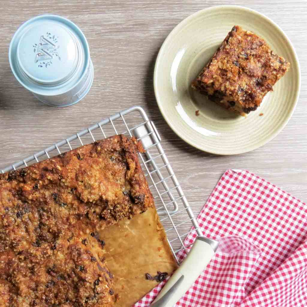 Gluten Free, Dairy Free Bread Pudding that made with my very own gluten free suet recipe