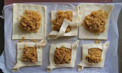 Treacle Tart Danish Pastries how to make 3