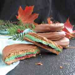 Slimey Wagon Wheels; goolish Halloween treats made gluten free