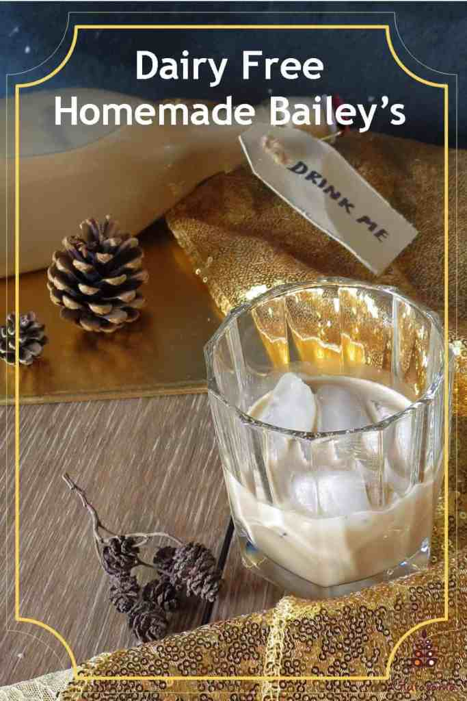 Homemade Dairy Free Bailey's; you never have to miss having Bailey's again now that I've developed this perfect blend of ingredients