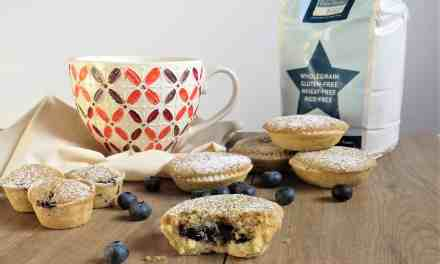Blueberry Frangipane Tarts; gluten free, vegan and delicious