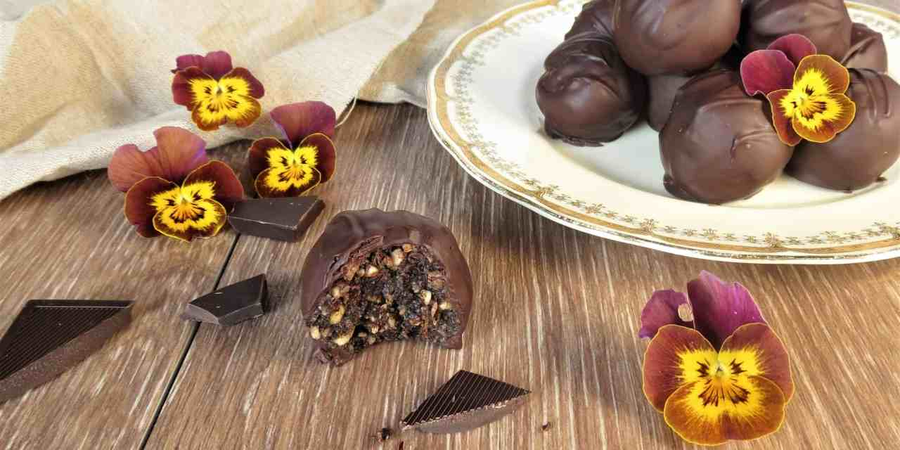 Fruit and Nut Chocolate Truffles