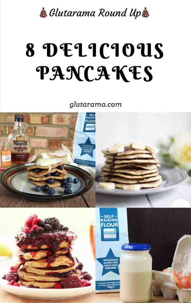 8 Delicious Pancakes; American style and crepe style pancake recipes for this Pancake Day, all are #freefrom recipes so nobody need miss out #glutenfree #dairyfree #vegan #eggfree #pancakes #pancakeday #shrovetuesday #fasting #traditionalrecipes #freefromgang