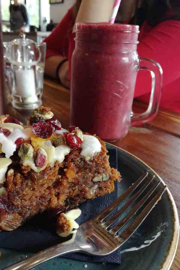 Mountain Cafe, Aviemore, Caringorms. Gluten Free, Vegan