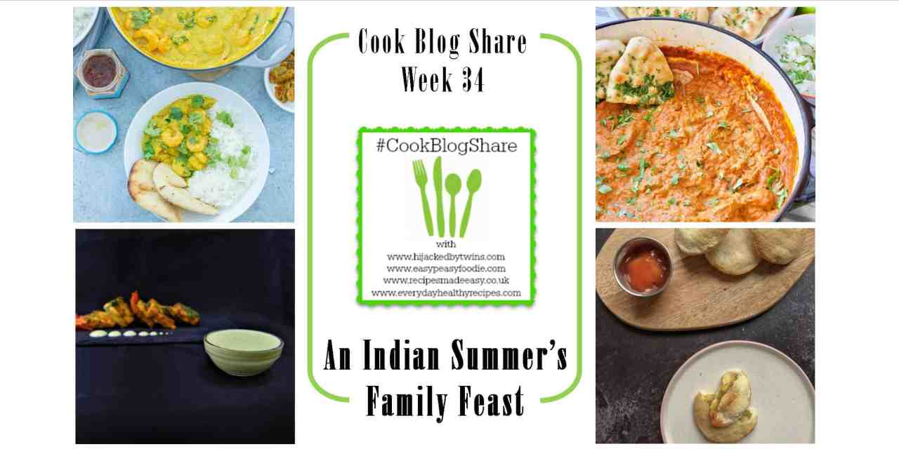 Cook Blog Share Week 34: An Indian Family Feast