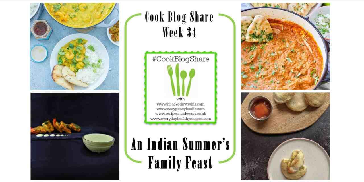 Cook Blog Share Week 34: An Indian Family Feast