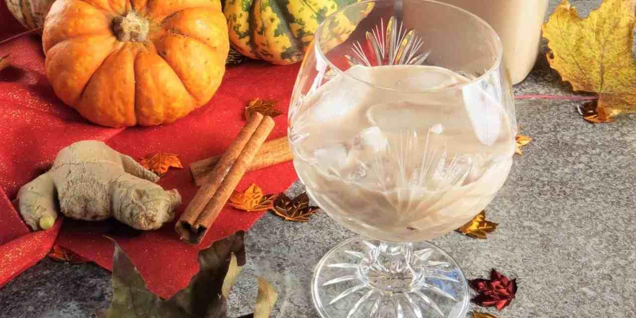 Homemade Bailey's Pumpkin Spice; gluten and dairy free