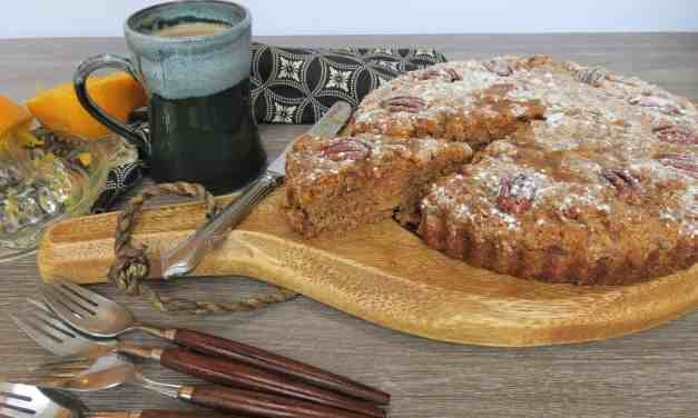 Roast Orange and Pecan Cake; gluten, dairy and egg free