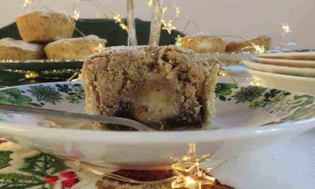 Stollen Mince Pies; gluten and dairy free