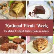 National Picnic Week – the gluten free kind that everyone can enjoy