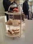 Gluten free tea at Claridge's