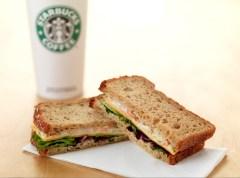 Gluten free sandwich from Starbucks