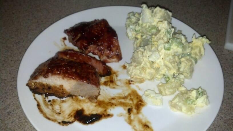 BBQ & Potato Salad