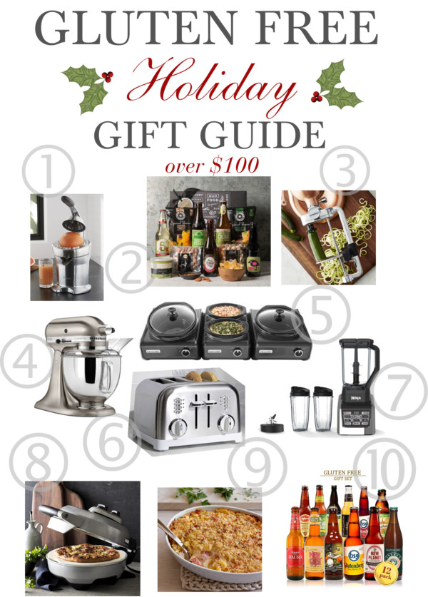 The BEST Gluten Free Gifts over $100