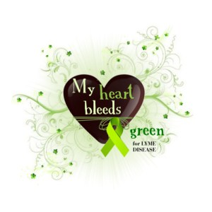 My Heart Bleeds Lyme Green
