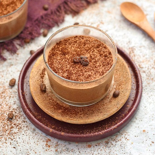 Coffee Mousse from A Baking Journey. Perfect gluten free puddings.