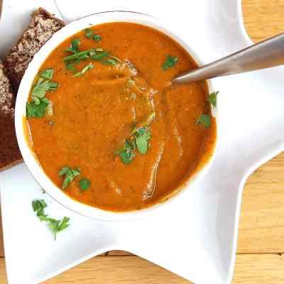 Best Roasted Vegetable Soup Recipe