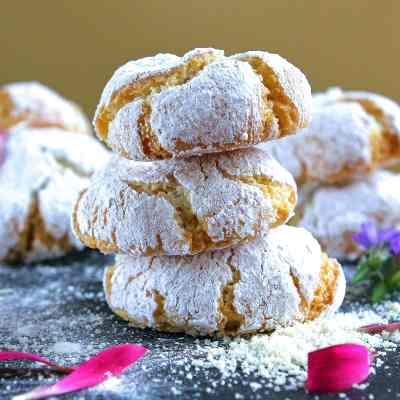 Soft Italian Amaretti Cookies – In Memory… (gluten & dairy free)
