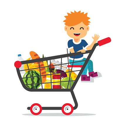 child-supermarket-trolley