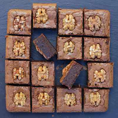 Coffee Brownies with Walnuts – A Recipe For Coffee Lovers