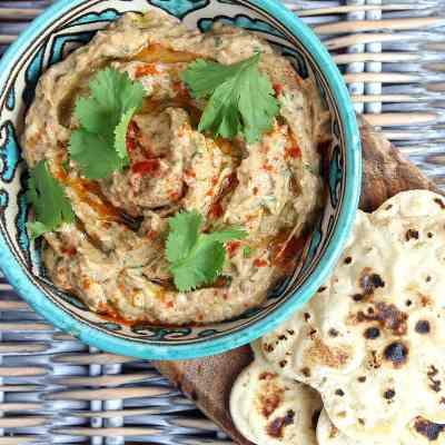 Baba Ganoush Recipe (Perfectly Smoky Eggplant Dip)