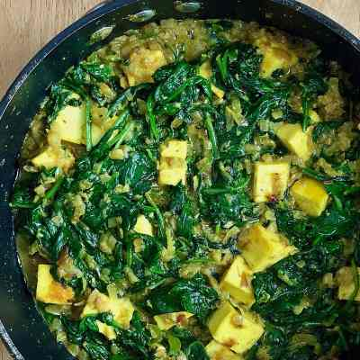 "Saag Paneer – A Recipe from Rick Stein's ""India"""
