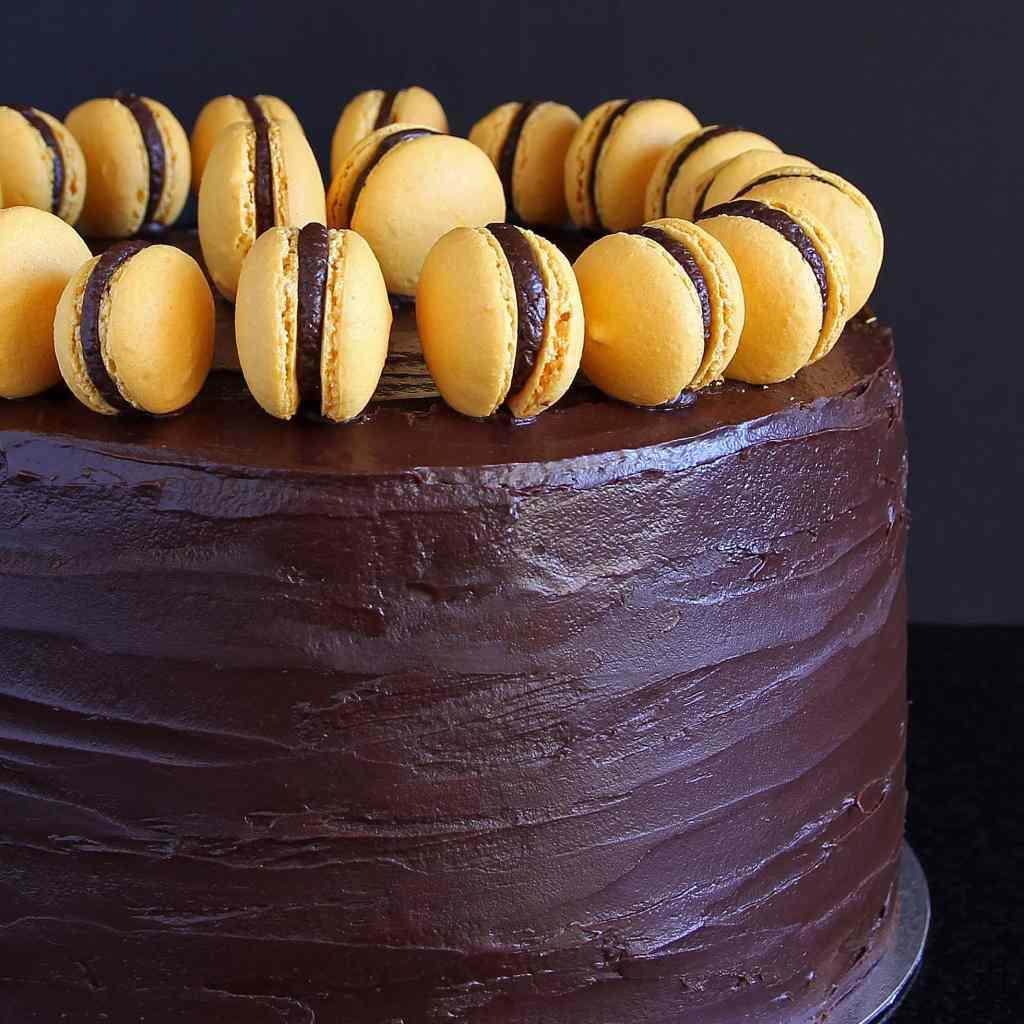 chocolate-orange-celebration-cake-macaron-gluten-free