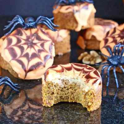 Pumpkin and Walnut Cakes (gluten free – dairy free)