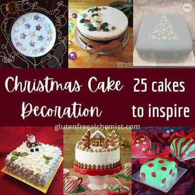 Christmas Cake decorating – Tips & 25 Ideas for Icing the Cake