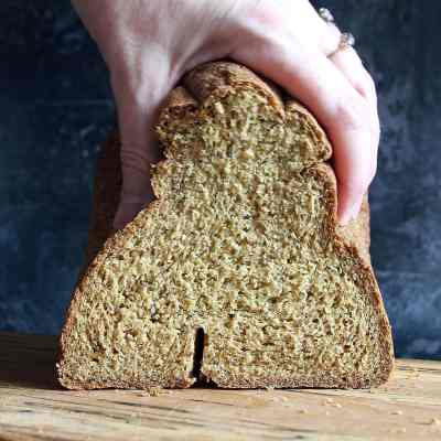 Gluten Free Vegan Bread Machine Loaf – A Wholemeal Recipe