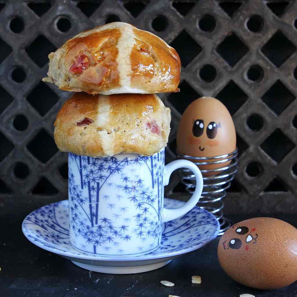 fruit-almond-marzipan-hot-cross-buns