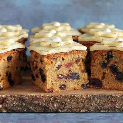 Simnel Traybake Cake – Gluten Free Recipe