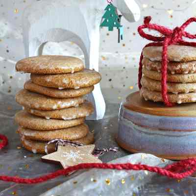 Gluten Free Lebkuchen Cookies