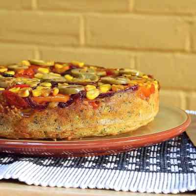 Savoury Upside Down Cake – Gluten Free (the Original Recipe)