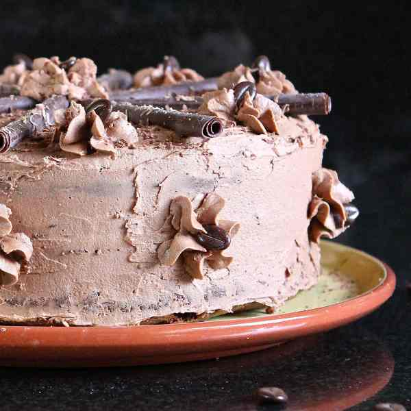 Gluten Free Mocha Cake – A 'Free From' Celebration Recipe