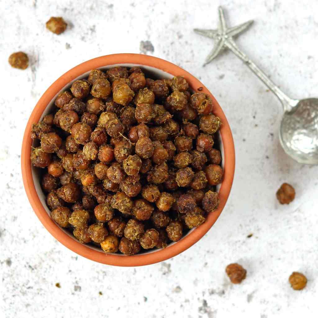 pesto-roasted-chickpeas