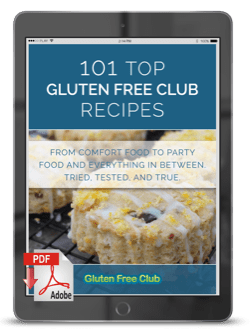 101 Top Gluten Free Recipes Cover